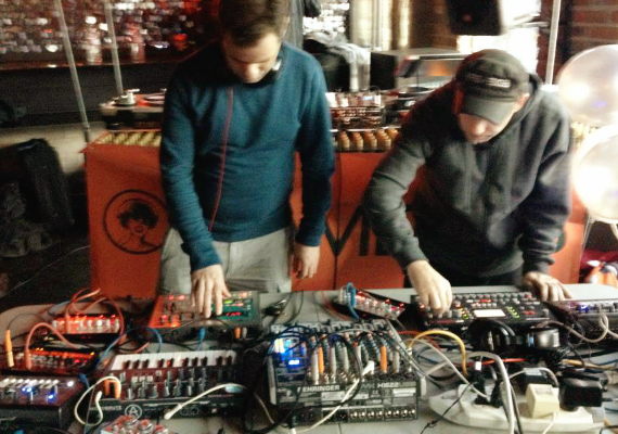 Area 303 Live Techno PA